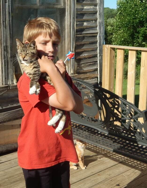 Уайетт и его животные.