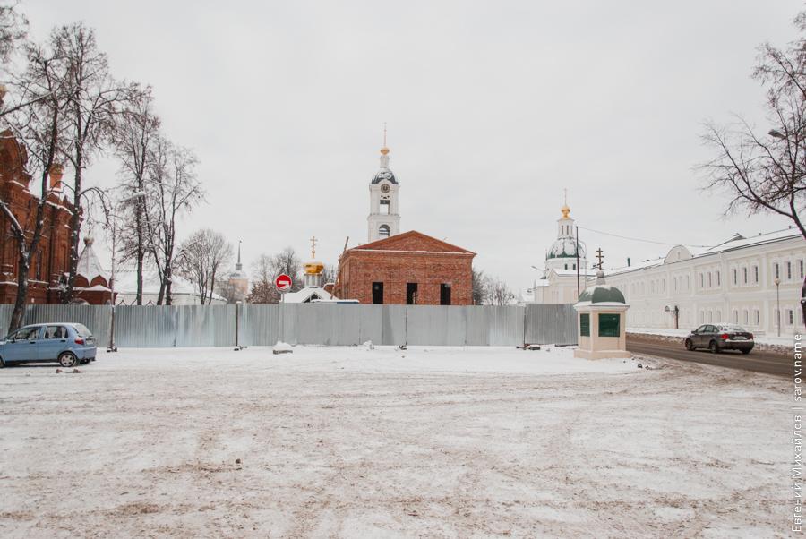 успенский собор стройка