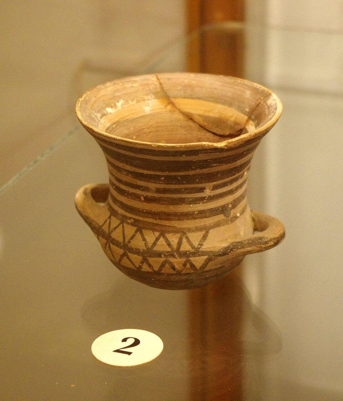 Кубок с двумя ручками. Беотия. Пер. пол. VIII в. до н.э.