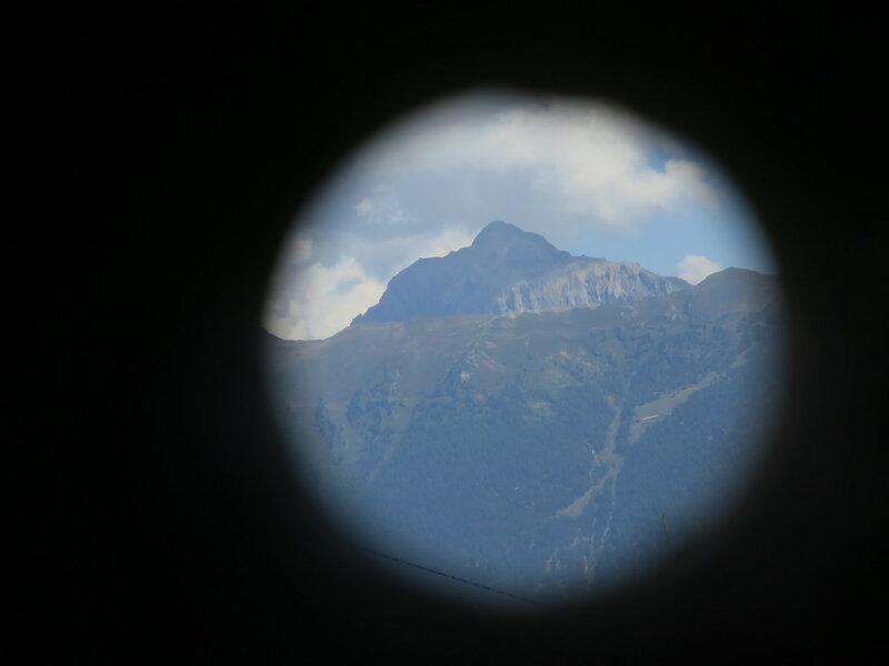 Устройство поиска гор в Швейцарии