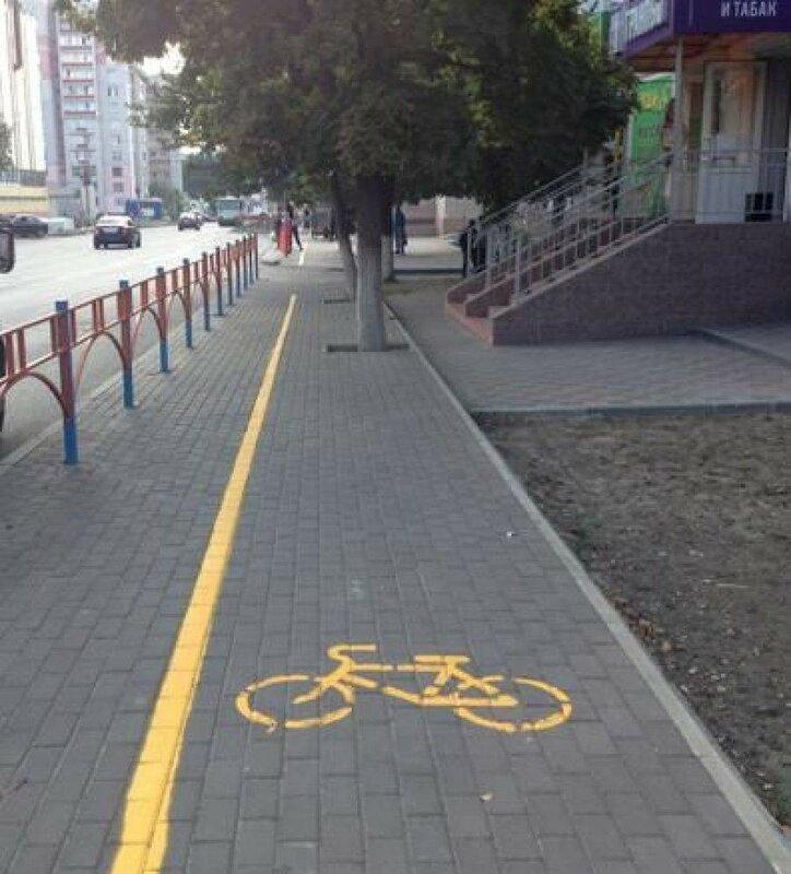 0 1e882f 3b4f4586 XL Доказательства тяжелой жизни велосипедистов в городе: фото и видео