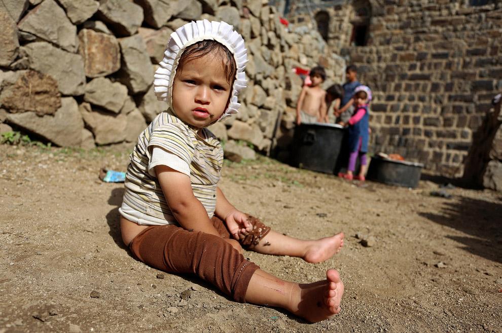 15. Местная красотка. (Фото Abduljabbar Zeyad | Reuters):