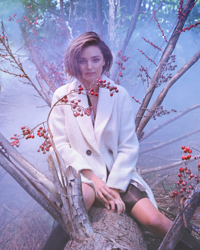 Миранда Керр в рекламной кампании Marella