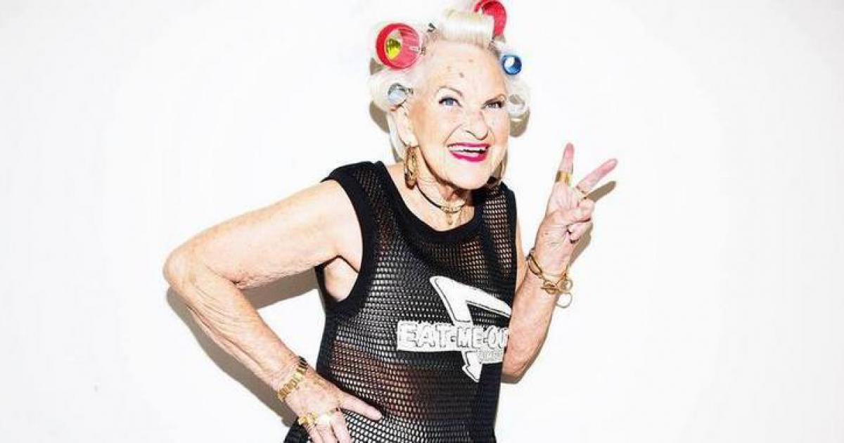 Бадди Винкл, 86 лет Бадди комфортно чувствует себя в своем теле и возрасте, и ей это нравится. Но ос