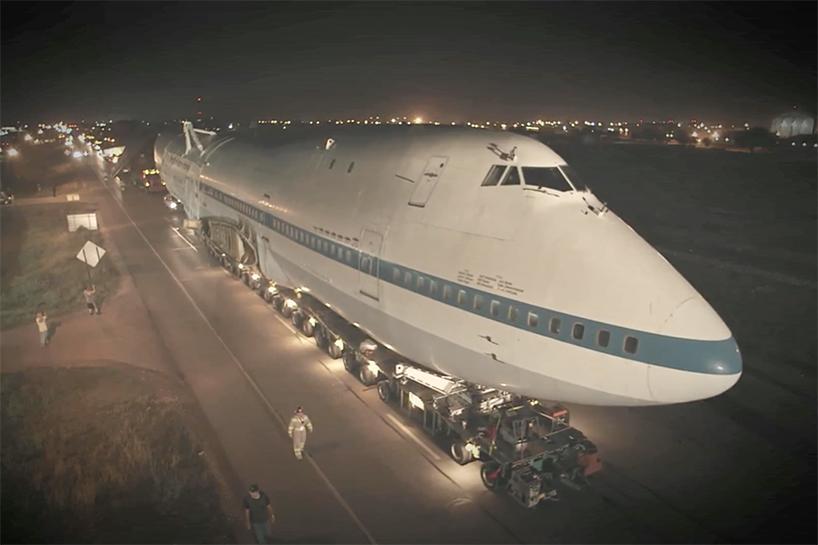 Boeing 747 на фестивале Burning Man