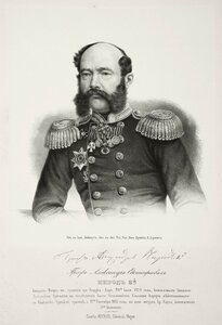 Граф Александр Евстафьевич Нирод, генерал-майор