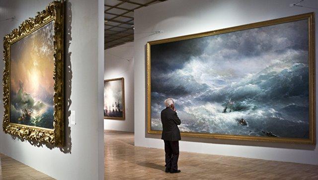 Выставка Айвазовского вТретьяковке повоскресеньям будет работать дольше