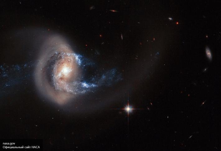 NASA заметило таинственное явление вкосмосе, названное «Рукой Бога»