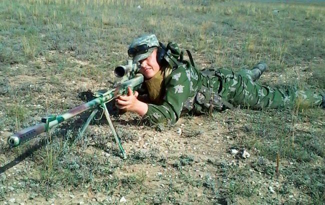 Она проходила спецподготовку в РФ: налинии разраничения задержали снайперку боевиков
