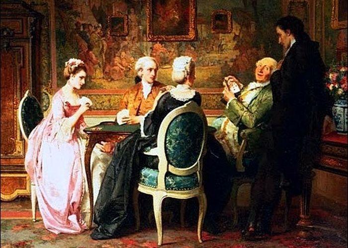 Как князь Александр Голицын жену в карты проиграл