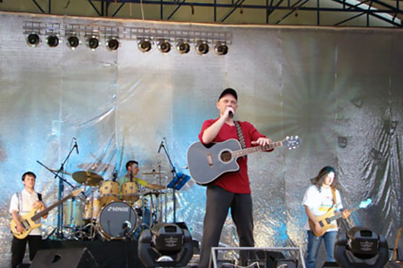 Концерт в парке 2001 г, фото из архива belpark.ru