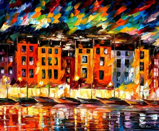 Colorful Paintings by Leonid Afremov
