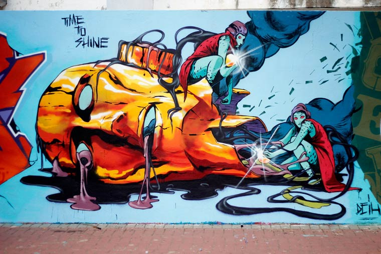 Street Art - The stunning creations by DEIH