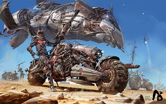 Concept Art by Ignacio Bazan Lazcano