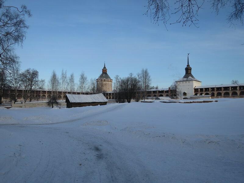 Кирилло-Белозерский монастырь. Место, где располагался Острог