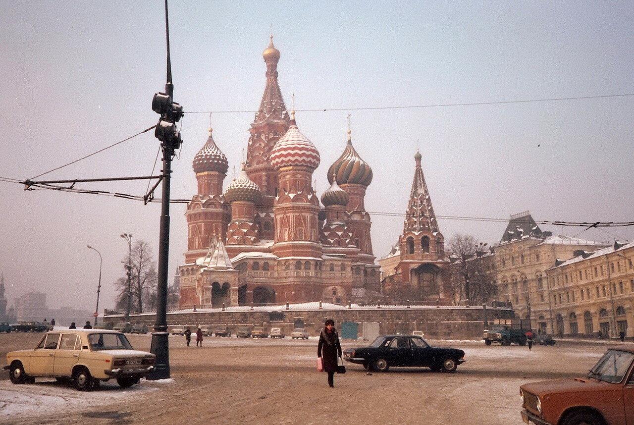 Москва. Покровский собор