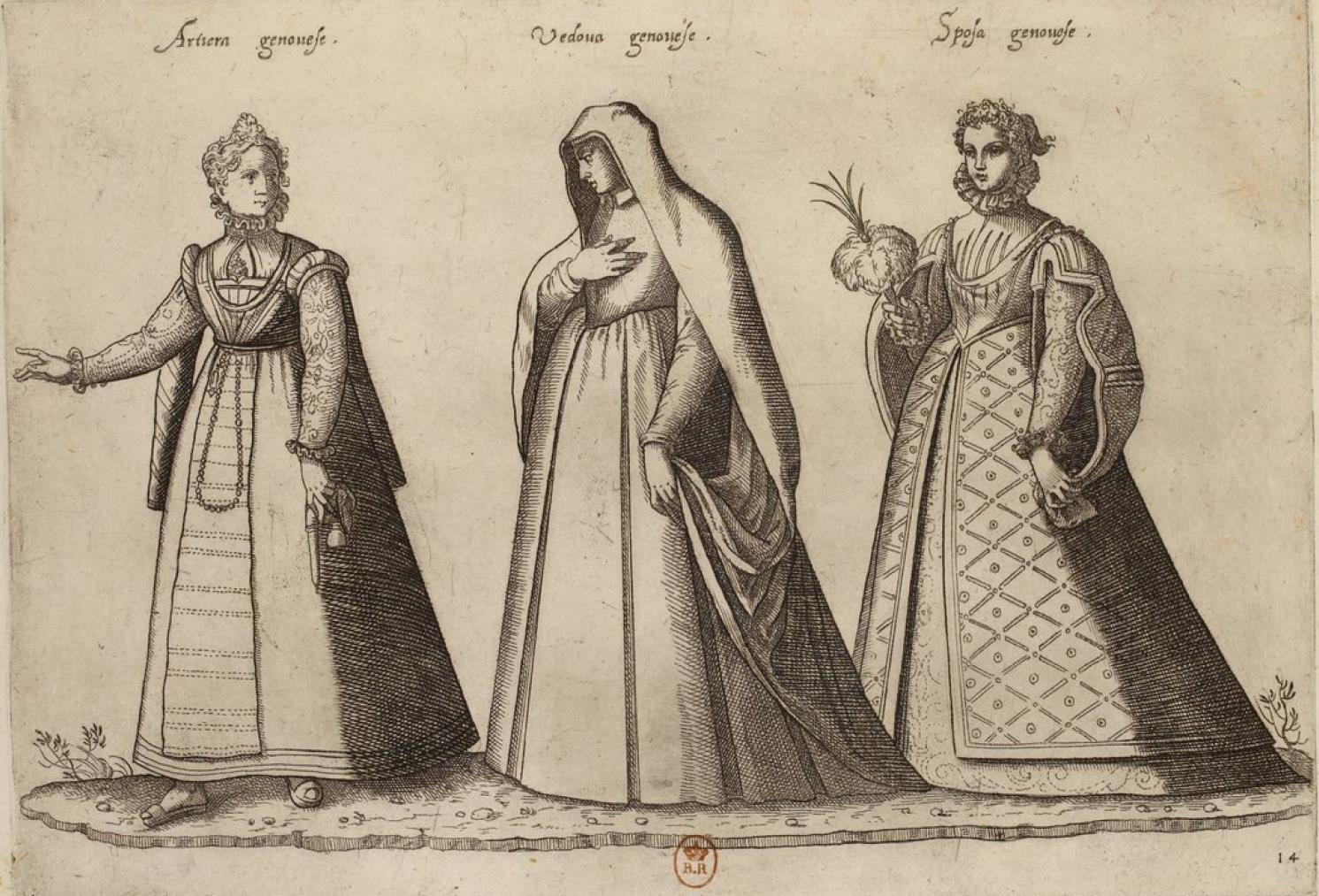 Генуя. Мещанка. Вдова. Невеста