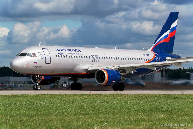 Airbus A320-214 (VP-BWF) Аэрофлот 0143_D803127