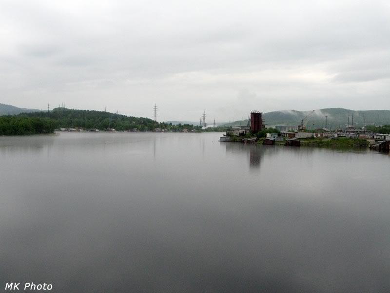 Вид на Нижнетуломское водохранилище