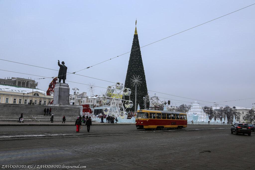 Новогодние каникулы-2018. Екатеринбург