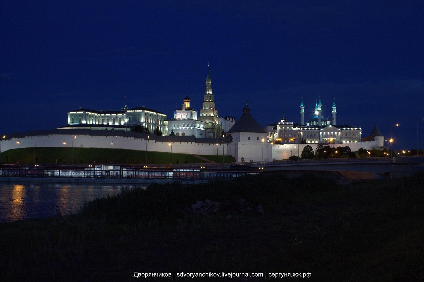 Доброй ночи, Казань!
