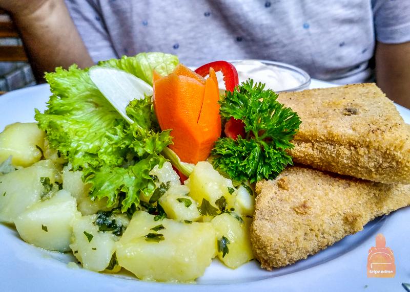 В ресторане представлено всё разнообразие венгерской кухни
