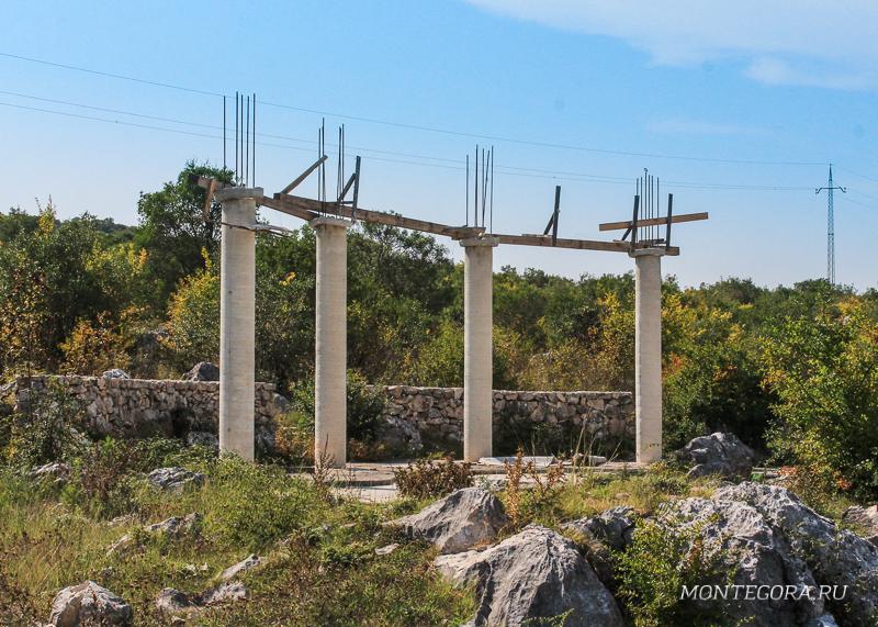 Руины старого города Шас