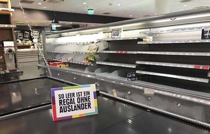 4. Столь неожиданная инициатива филиала супермаркетов Edeka вызвала много дискуссий в социальны