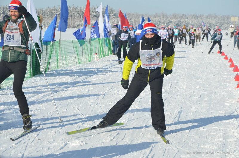 Лыжня России, Базарный Карабулак, 10 февраля 2018 года