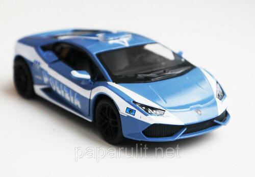 Kinsmart Lamborghini Huracan Polizia