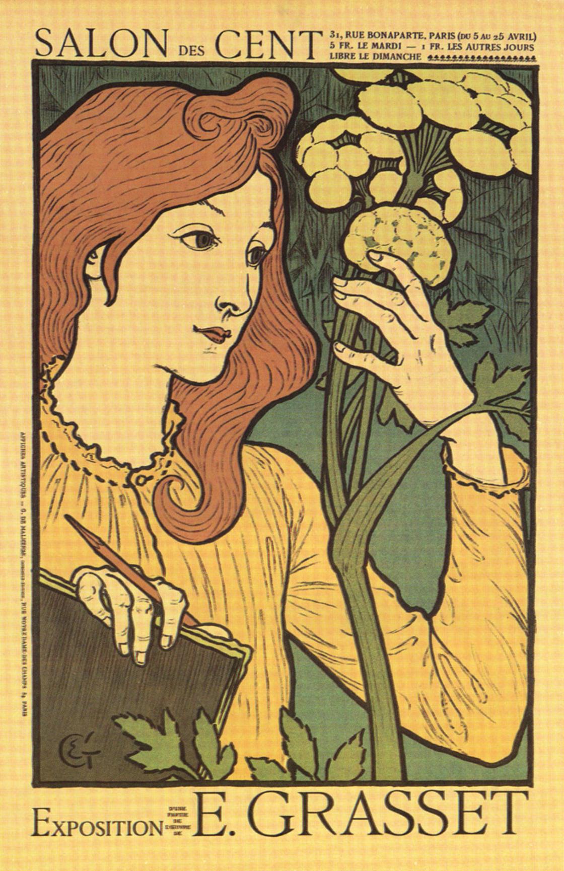 Eugene Grasset - 1894