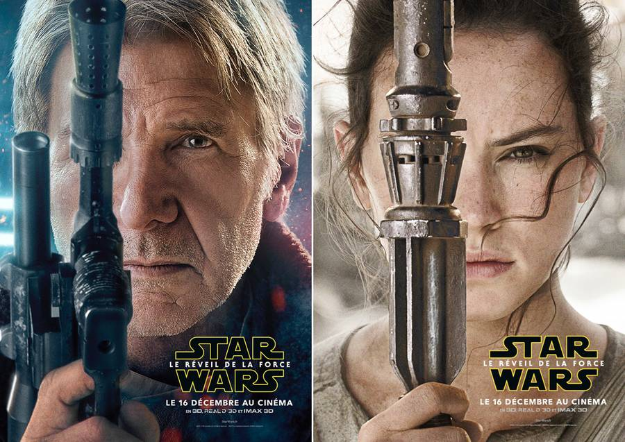 Official Star Wars: The Force Awakens Characters Posters (6 pics)