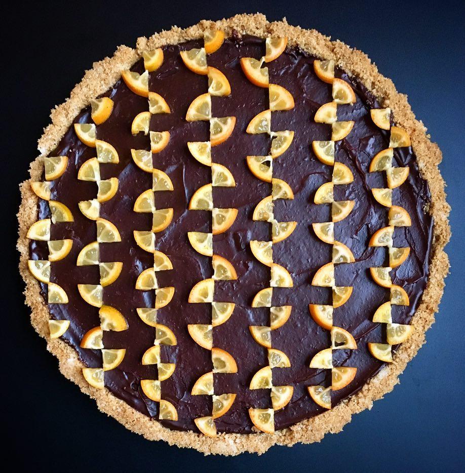 Dizzying Geometric Pies and Tarts by Lauren Ko