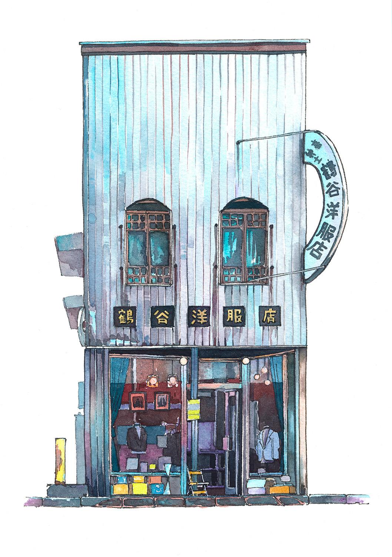 Amazing 'Tokyo Storefront' Illustration Series by Mateusz Urbanowicz
