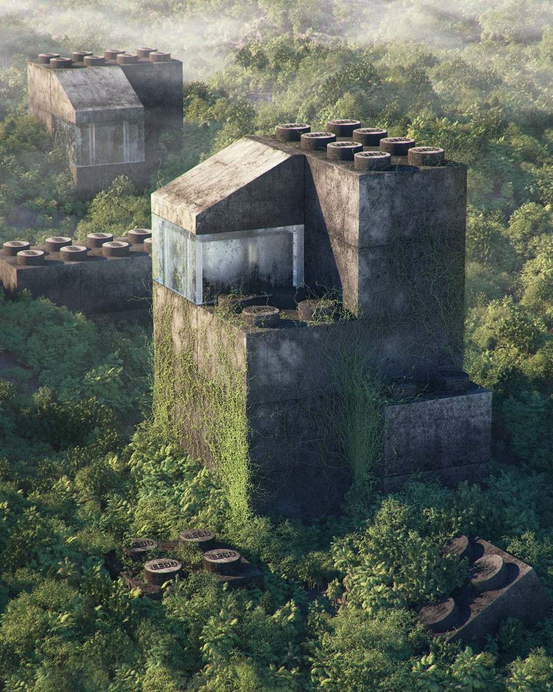 Pop Culture Apocalypse - Les ruines modernes de Filip Hodas