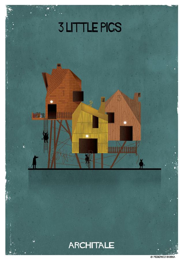 Projetos de arquitetura inspirados em personagens de contos de fada