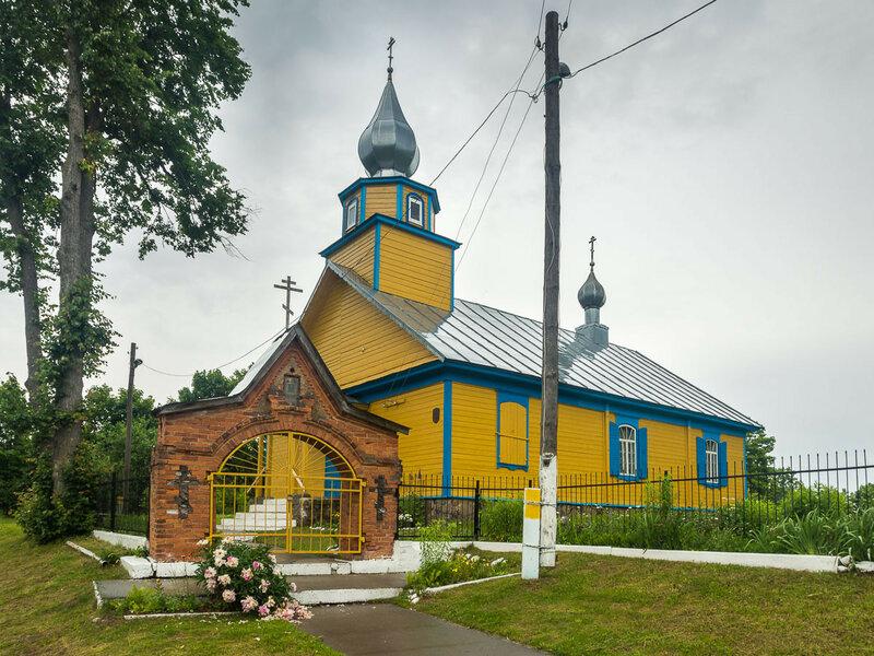 Старообрядческая Троицкая церковь в Кублищине.