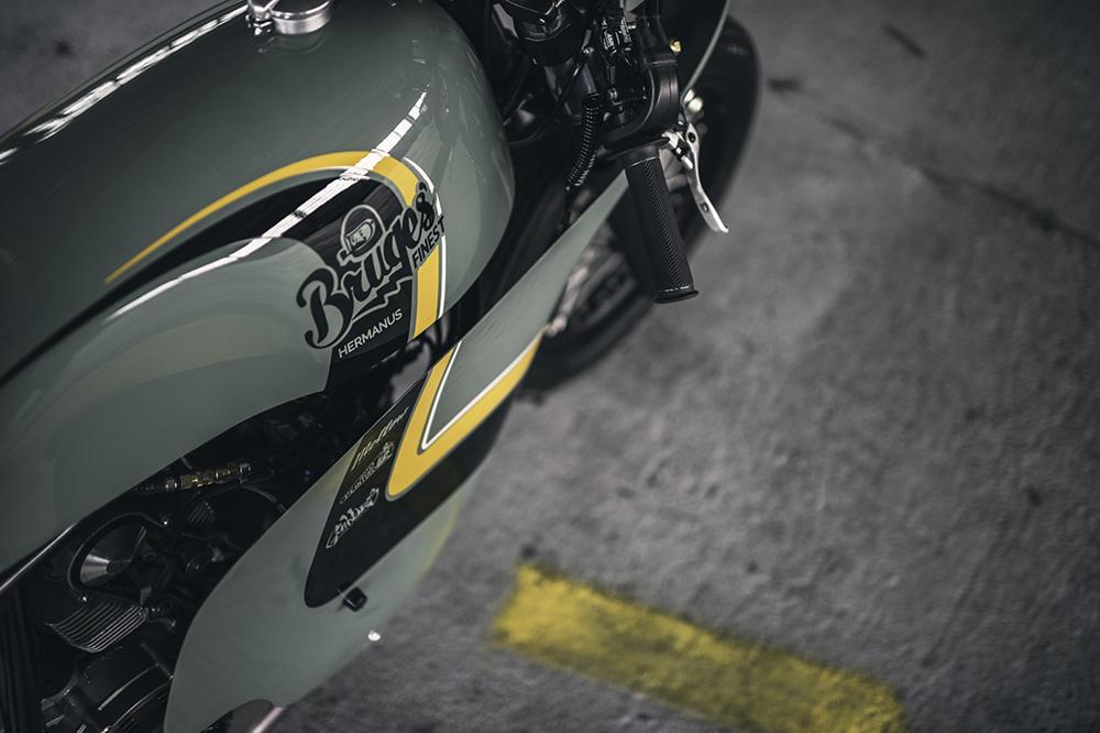 Кастом Hermanus Ducati Sprint Racer - бывший FRKNSTN