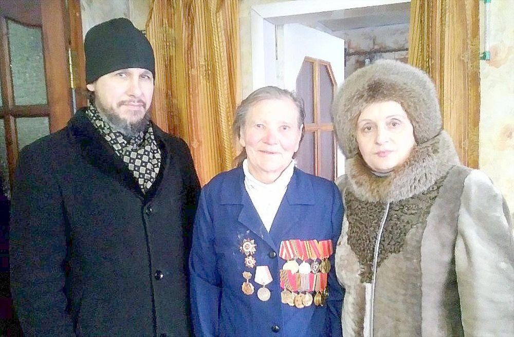 Екатерина Андреевна Иванова, ветеран Великой Отечественной войны