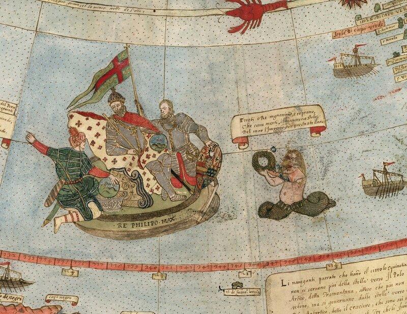 Деталь Тавола XXIIII (побережье Бразилии, портрет короля Филиппа II Испания).jpg