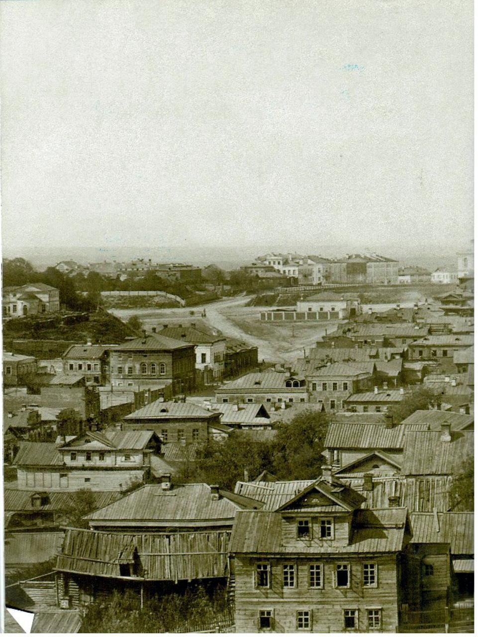 1880-е. Вид на Николаевскую площадь
