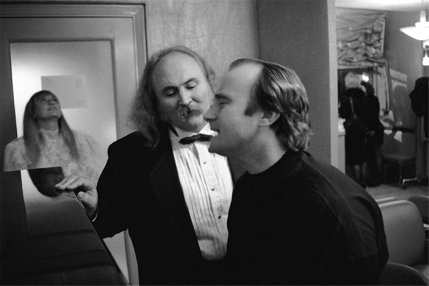 1989. Дэвид Кросби и Фил Коллинз