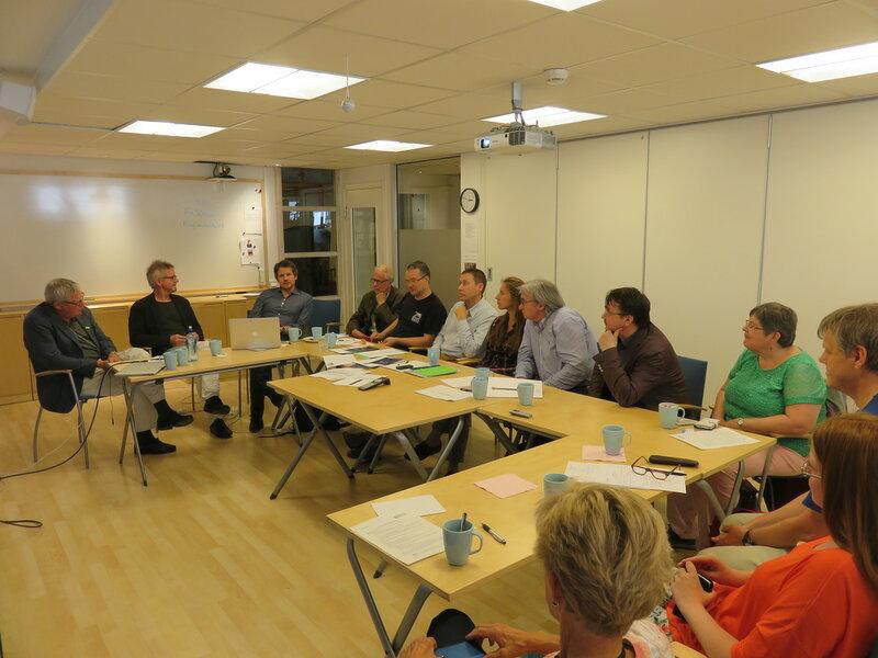 Встреча российских экологических активистов с экологами из шведской общественной организации MKG в Стокгольме (июнь 2016 года)