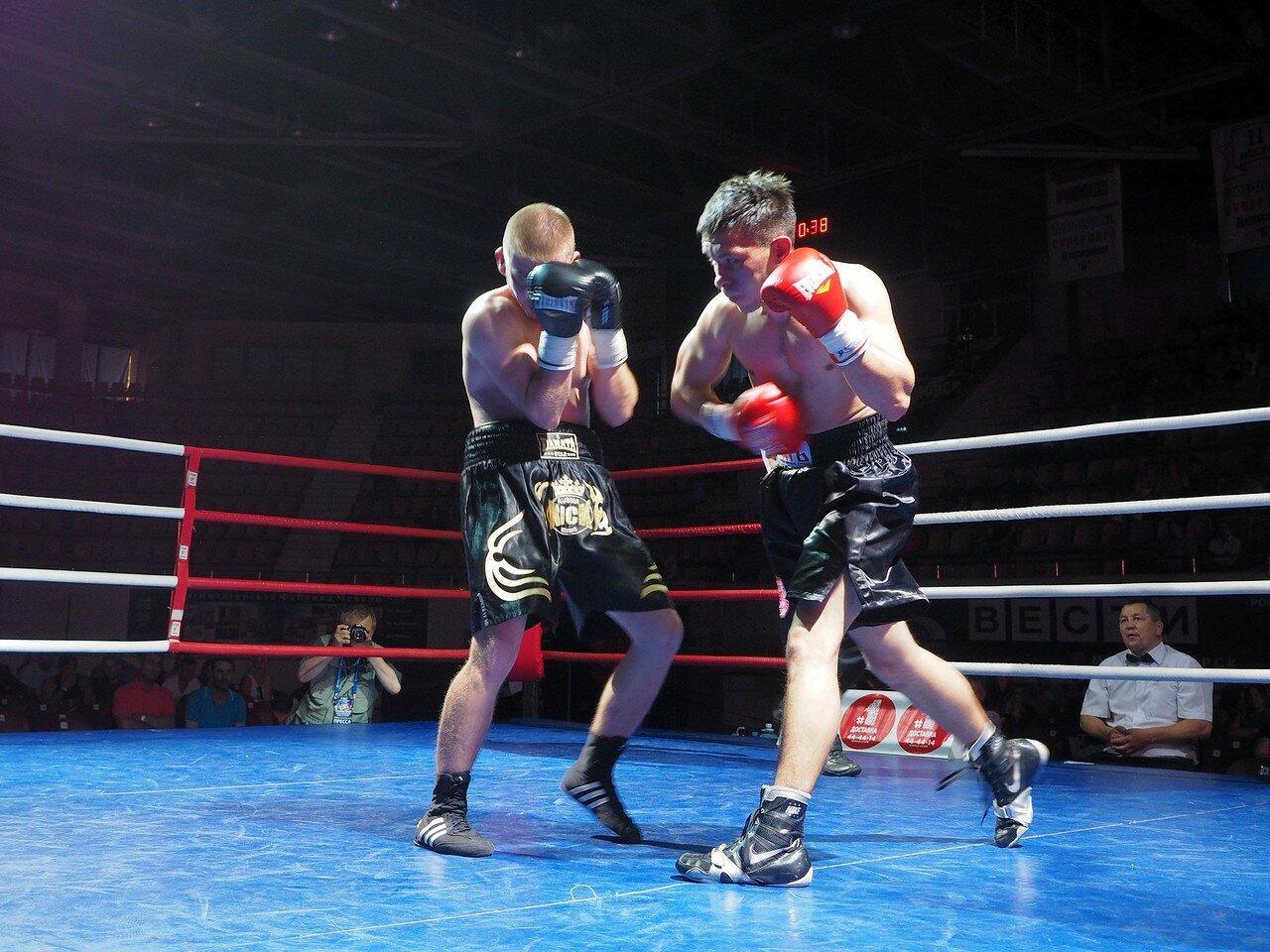 101 Вечер профессионального бокса в Магнитогорске 06.07.2017