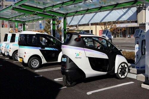 Toyota во второй раз протестирует электромобиль i-Road