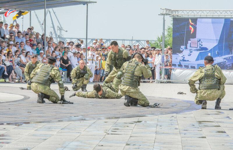 День ВМФ в Астрахани 2017