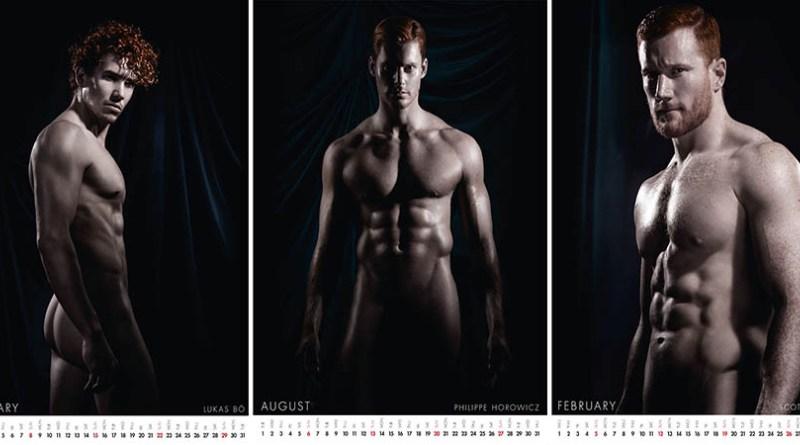 Календарь с обнаженными рыжими мужчинами