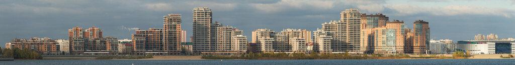 Панорама берега Казани