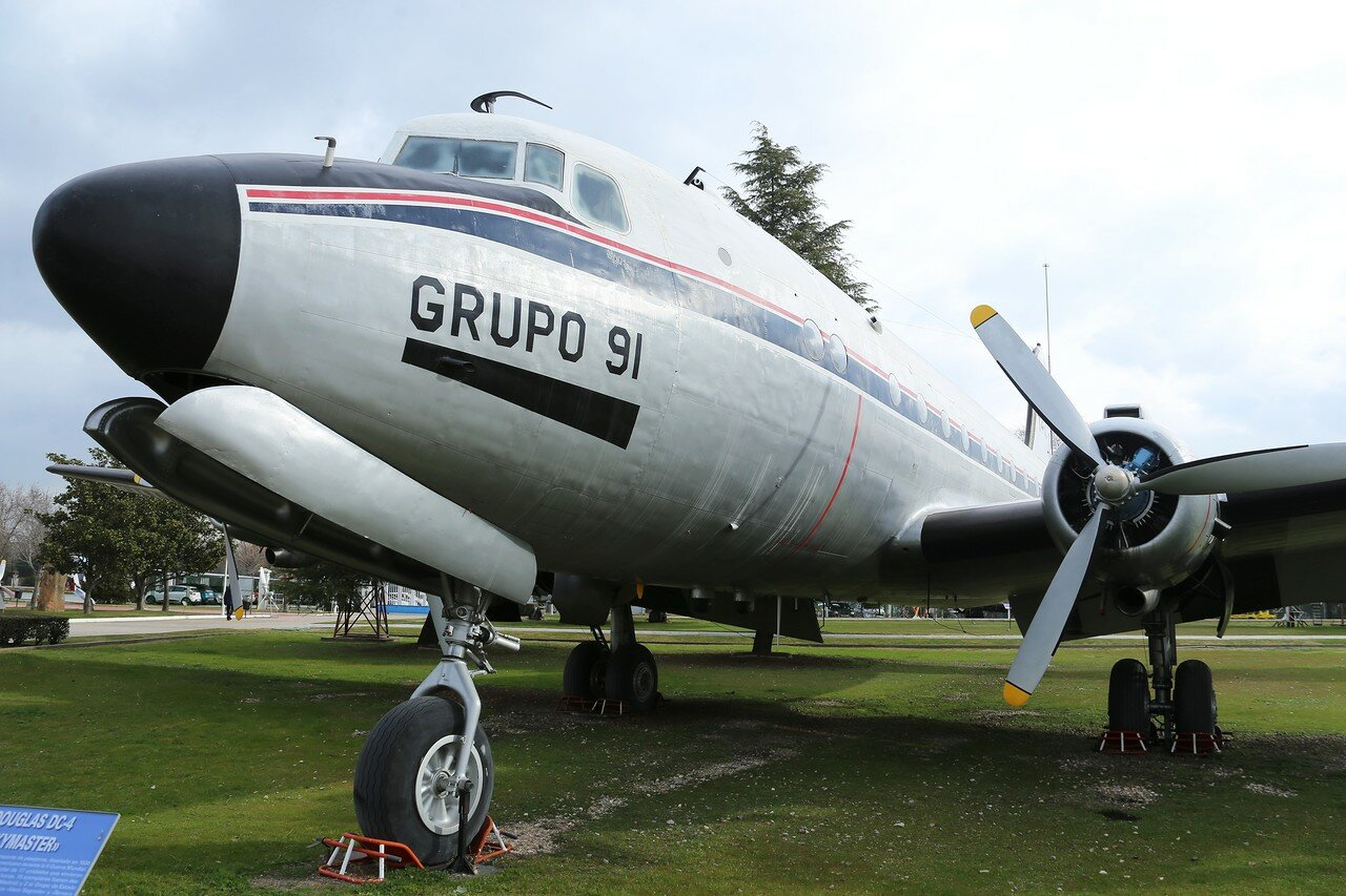 Douglas C-54 Skymaster (Museo del Aire, Madrid)