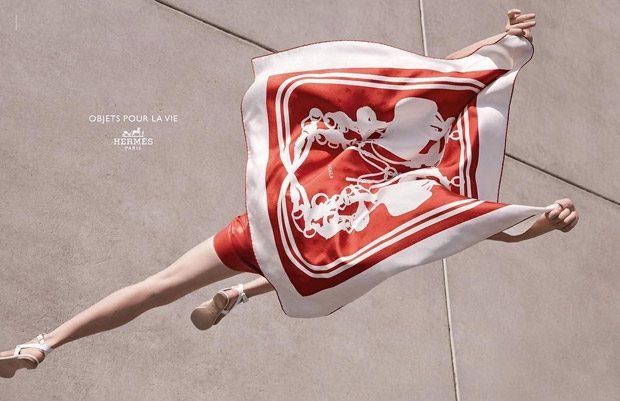 Рекламная кампания Hermes весна-лето 2017
